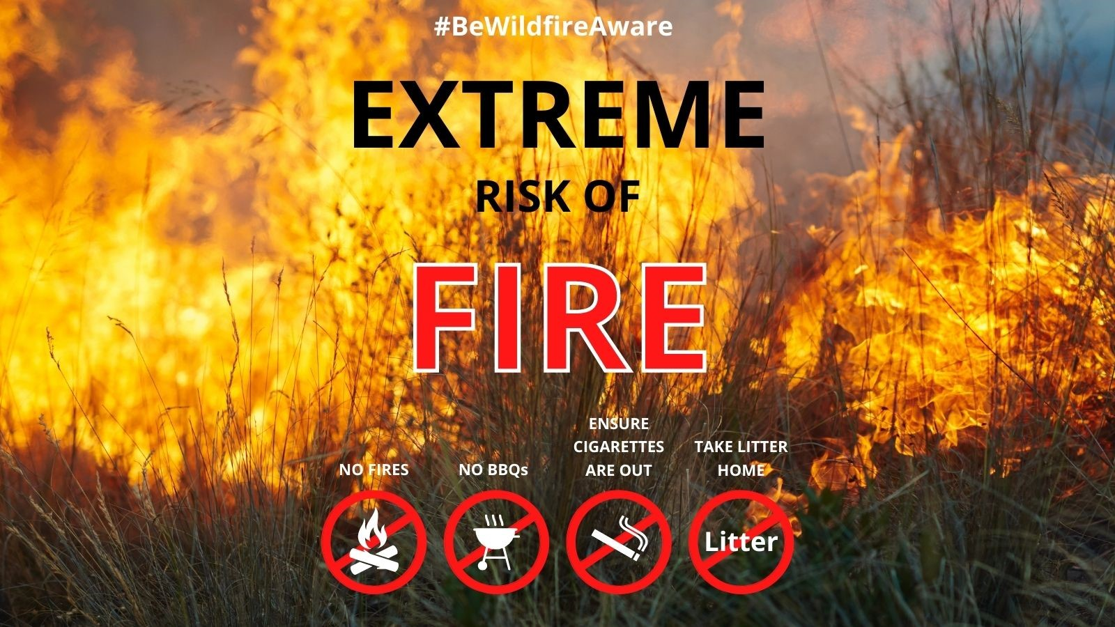 Warning About Heathland Fires From Thames Basin Heaths Partnerships